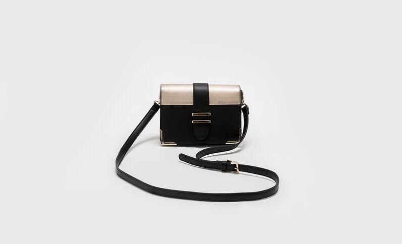 Petit sac bicolore noir