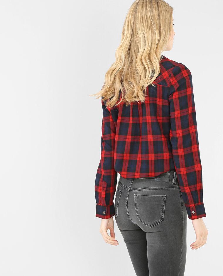 chemise carreaux rouge 561241338b06 pimkie. Black Bedroom Furniture Sets. Home Design Ideas