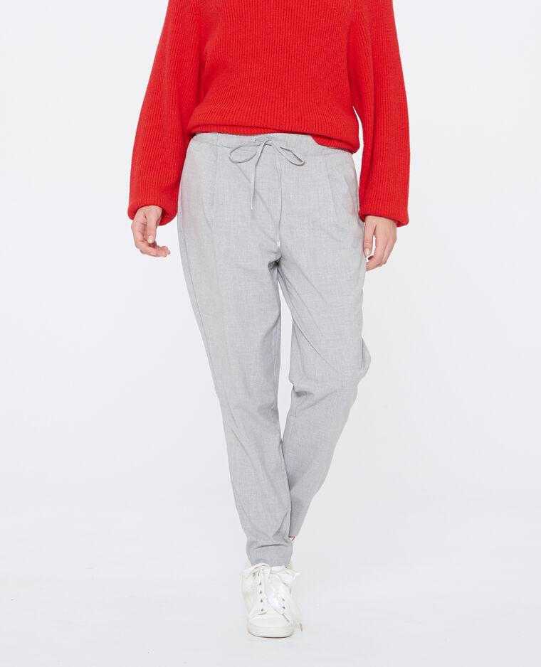 pantalon carotte gris chin 140485830a08 pimkie. Black Bedroom Furniture Sets. Home Design Ideas