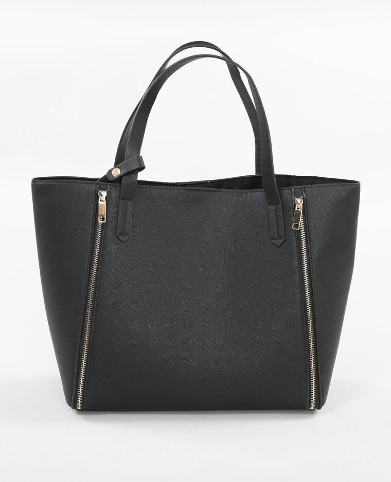 sac cabas zipp noir 983089899a08 pimkie. Black Bedroom Furniture Sets. Home Design Ideas