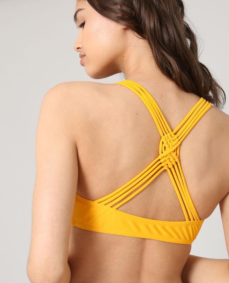Haut de bikini brassière Orange