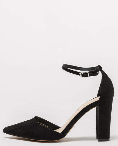 Escarpins à bride noir