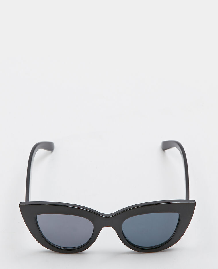 Lunettes de soleil cat eye noir