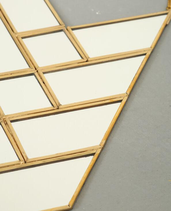 Miroir flèche doré