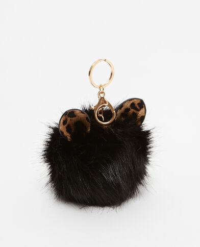 Porte-clés monster noir