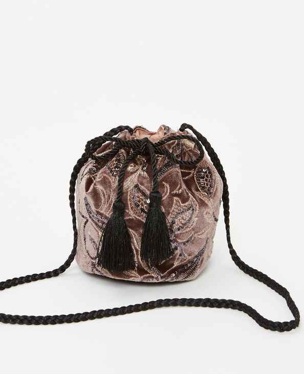 Sac bourse rose
