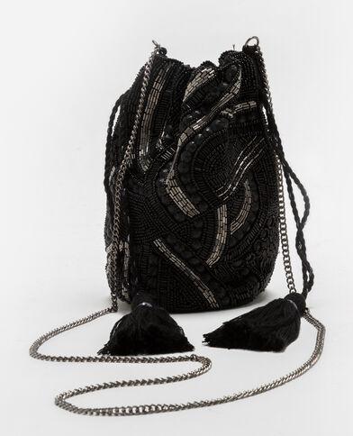 Petit sac bourse noir