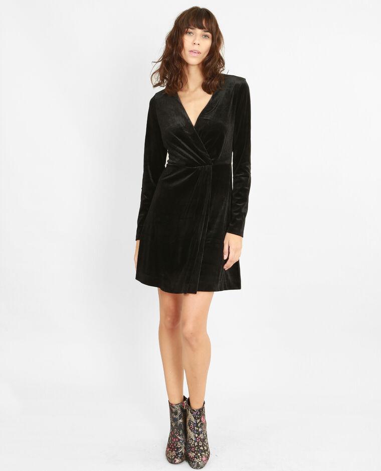 robe velours noir 780786899a08 pimkie. Black Bedroom Furniture Sets. Home Design Ideas