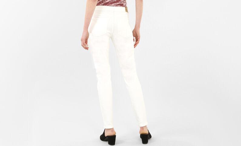 Jean skinny blanc