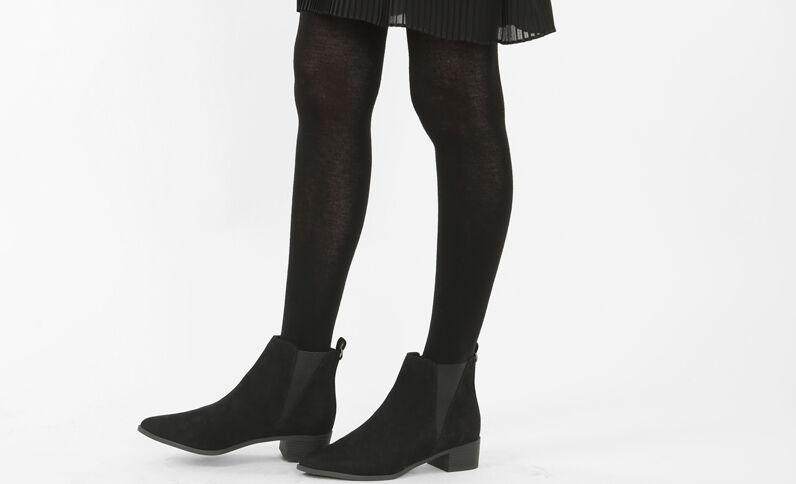 Collants chauds noir