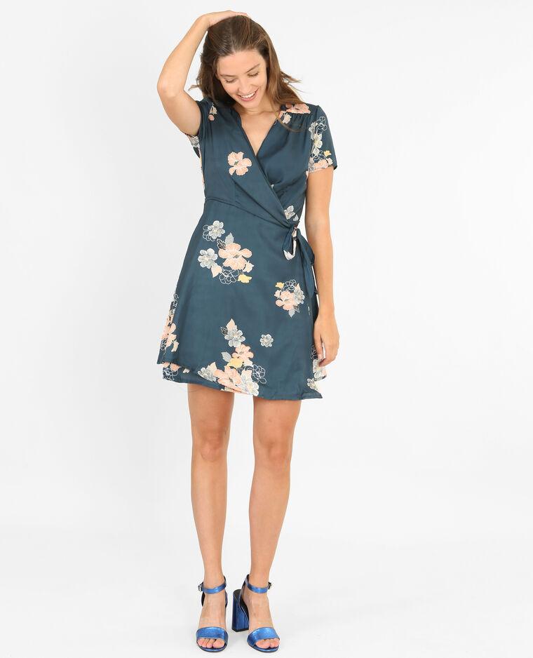 robe portefeuille bleu canard 780744b36i8a pimkie. Black Bedroom Furniture Sets. Home Design Ideas
