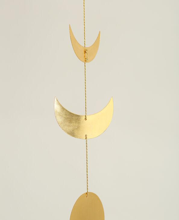 Guirlande décorative lunes doré