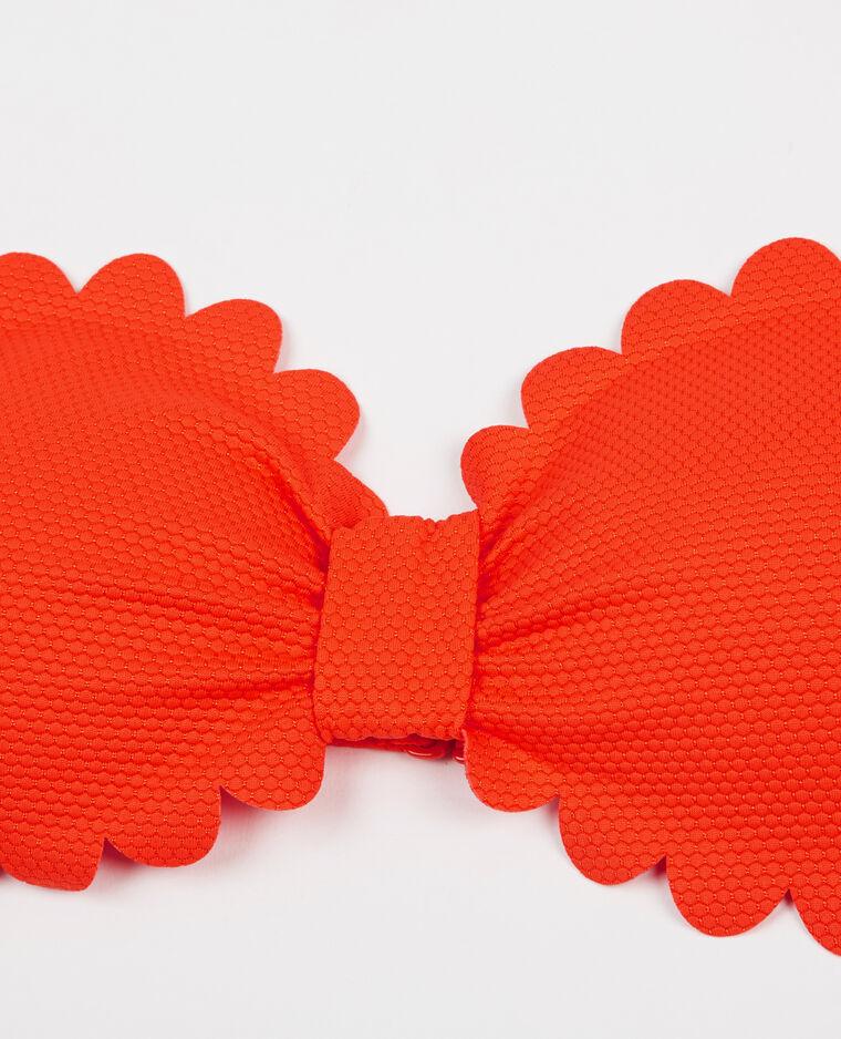 Bandeau pétales orange