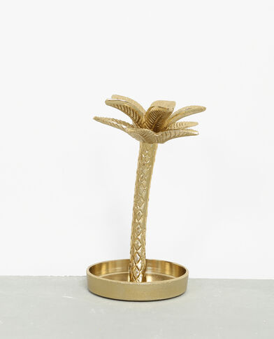 Vide-poches palmier doré