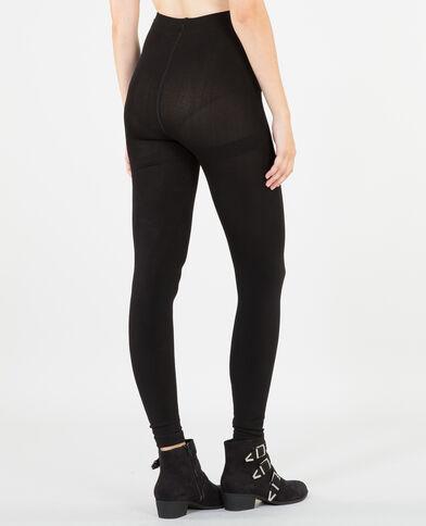 Legging doublure polaire noir