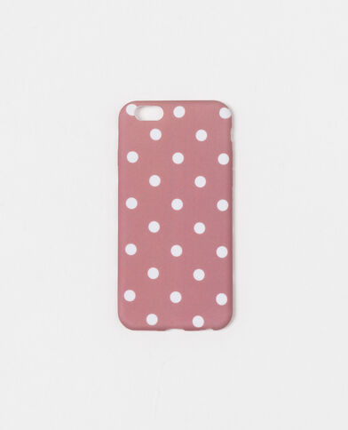 Coque souple compatible iPhone 6/6S rose