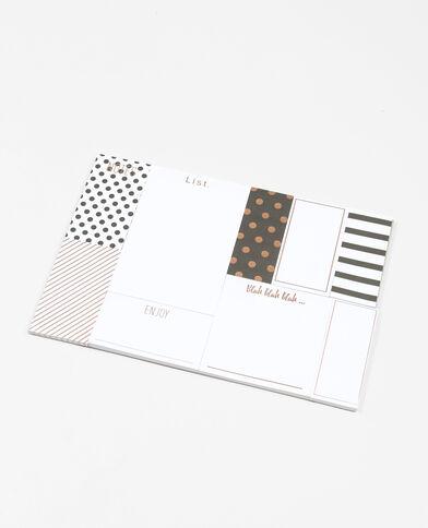 Set de stickers fantaisie blanc