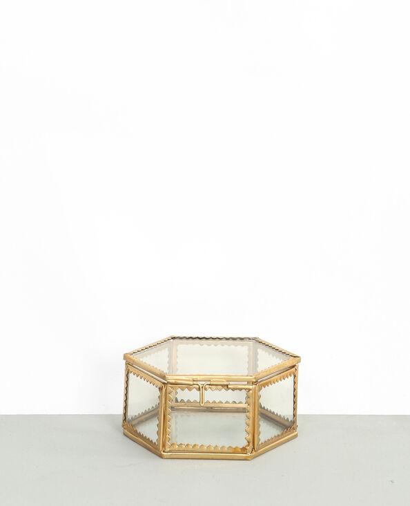 Petite boite à bijoux doré