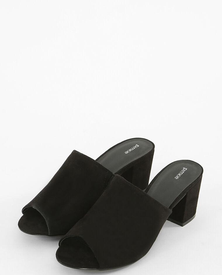 Mules noires noir