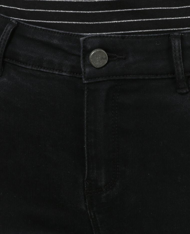 Jegging 7/8 taille haute noir
