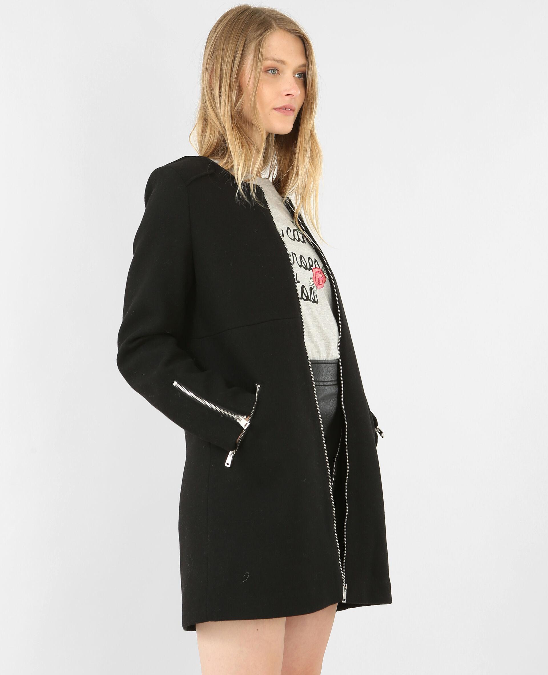 Manteau classe femme court