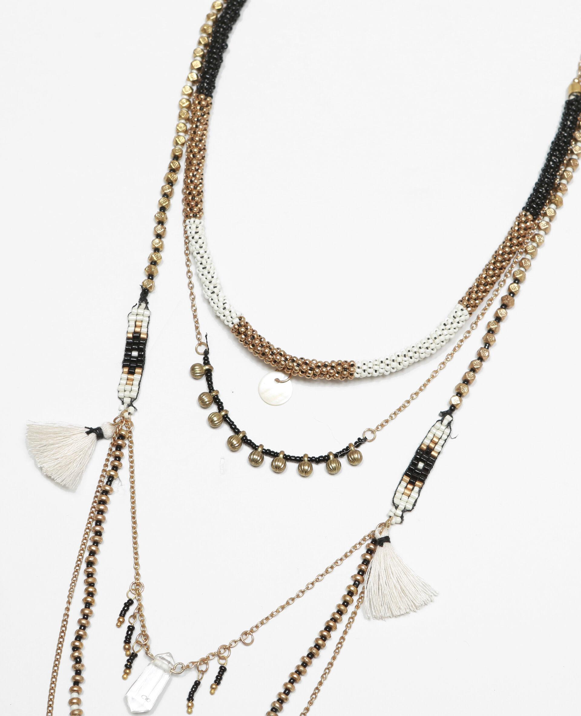 Les colliers multi rangs