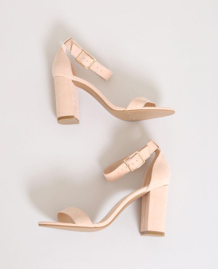 sandales talons rose poudr 916413259a02 pimkie. Black Bedroom Furniture Sets. Home Design Ideas