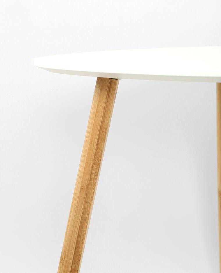 petite table 3 pieds blanc cassé - 904034912a09   pimkie