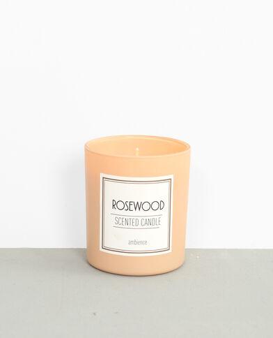 """Bougie parfumée """"Rosewood"""" rose"""