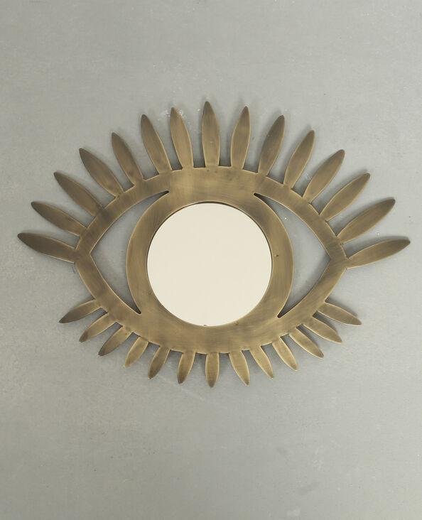 Miroir œil bronze