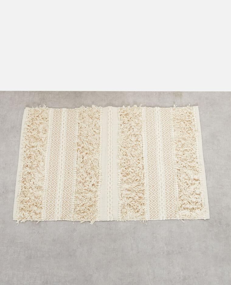 tapis lurex blanc cass 907227912a09 pimkie. Black Bedroom Furniture Sets. Home Design Ideas