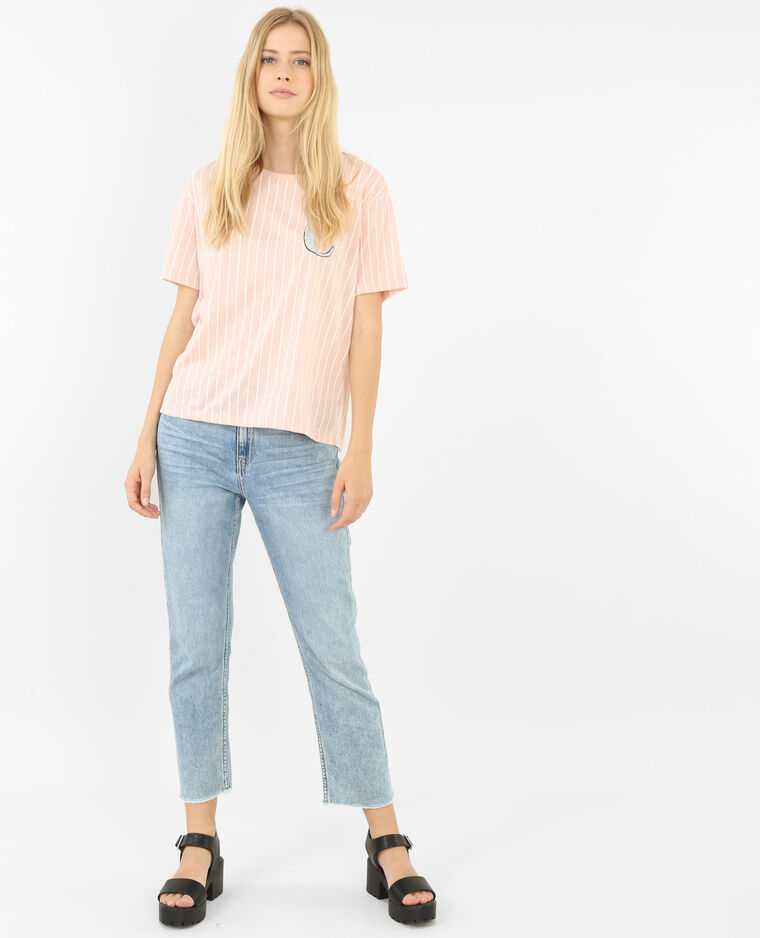 T-shirt type baseball rose