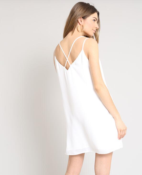 Robe nuisette blanc