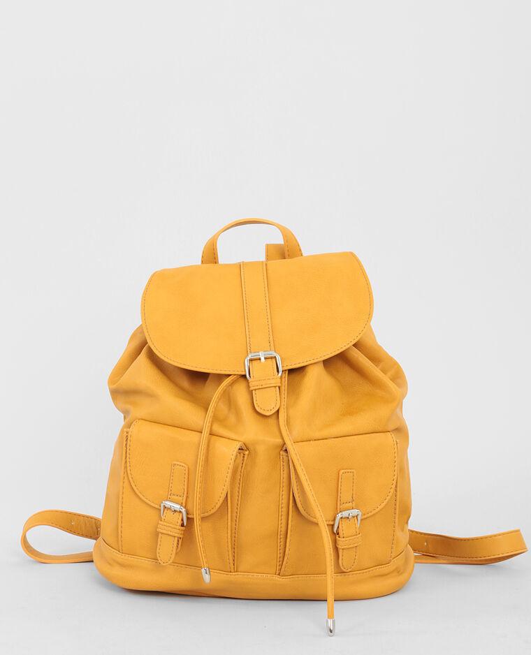 sac dos femme moutarde 981108014a00 pimkie. Black Bedroom Furniture Sets. Home Design Ideas