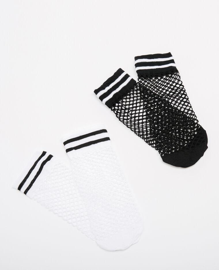 lot de chaussettes r sille gris 904256899a09 pimkie. Black Bedroom Furniture Sets. Home Design Ideas
