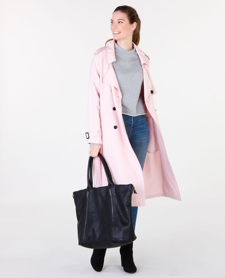 Trench fluide rose