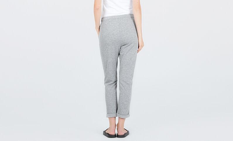 Pantalon de jogging homewear gris chiné