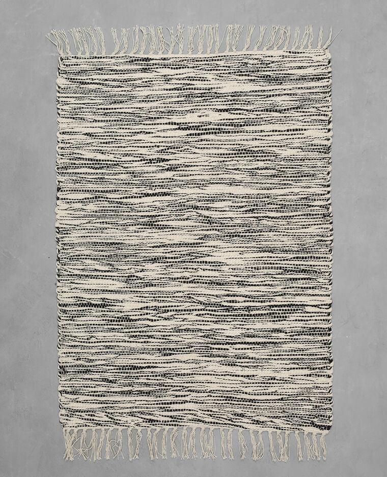 tapis coton tiss bicolore cru 955046765g08 pimkie. Black Bedroom Furniture Sets. Home Design Ideas