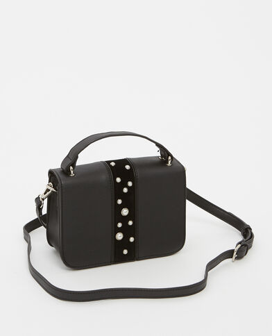 Petit sac à perles noir