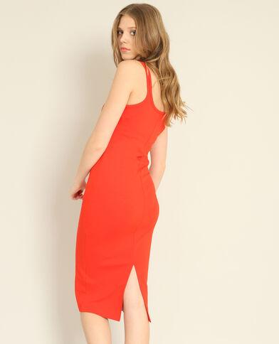 Robe moulante rouge