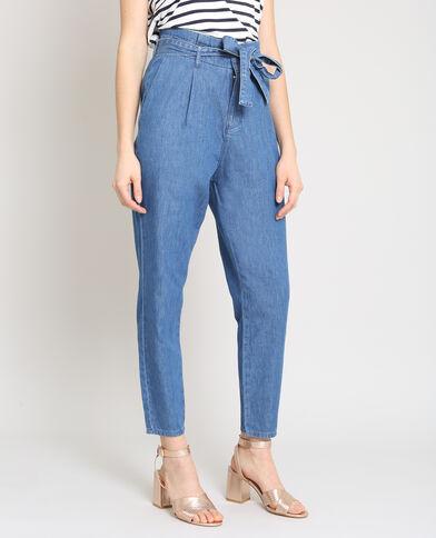 Pantalon city bleu