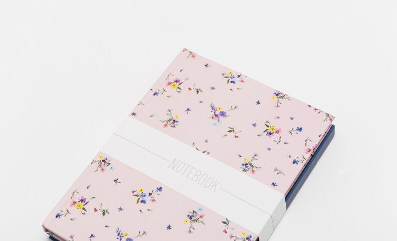 Lot de 2 notebooks rose