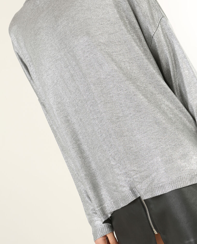 Pull silver gris