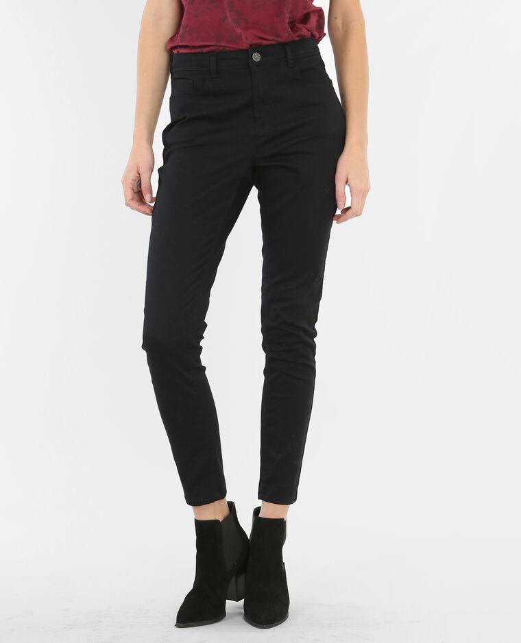 pantalon taille haute noir 142039899a08 pimkie. Black Bedroom Furniture Sets. Home Design Ideas