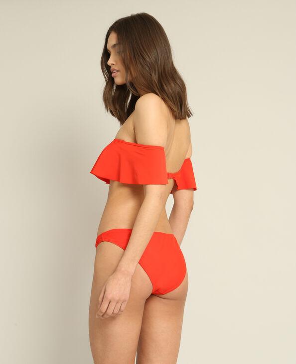 Bas de bikini rouge