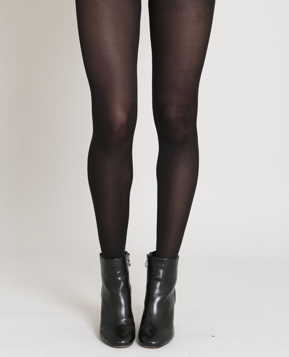Lot de 2 paires de collants noir