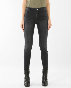 Jegging taille haute gris