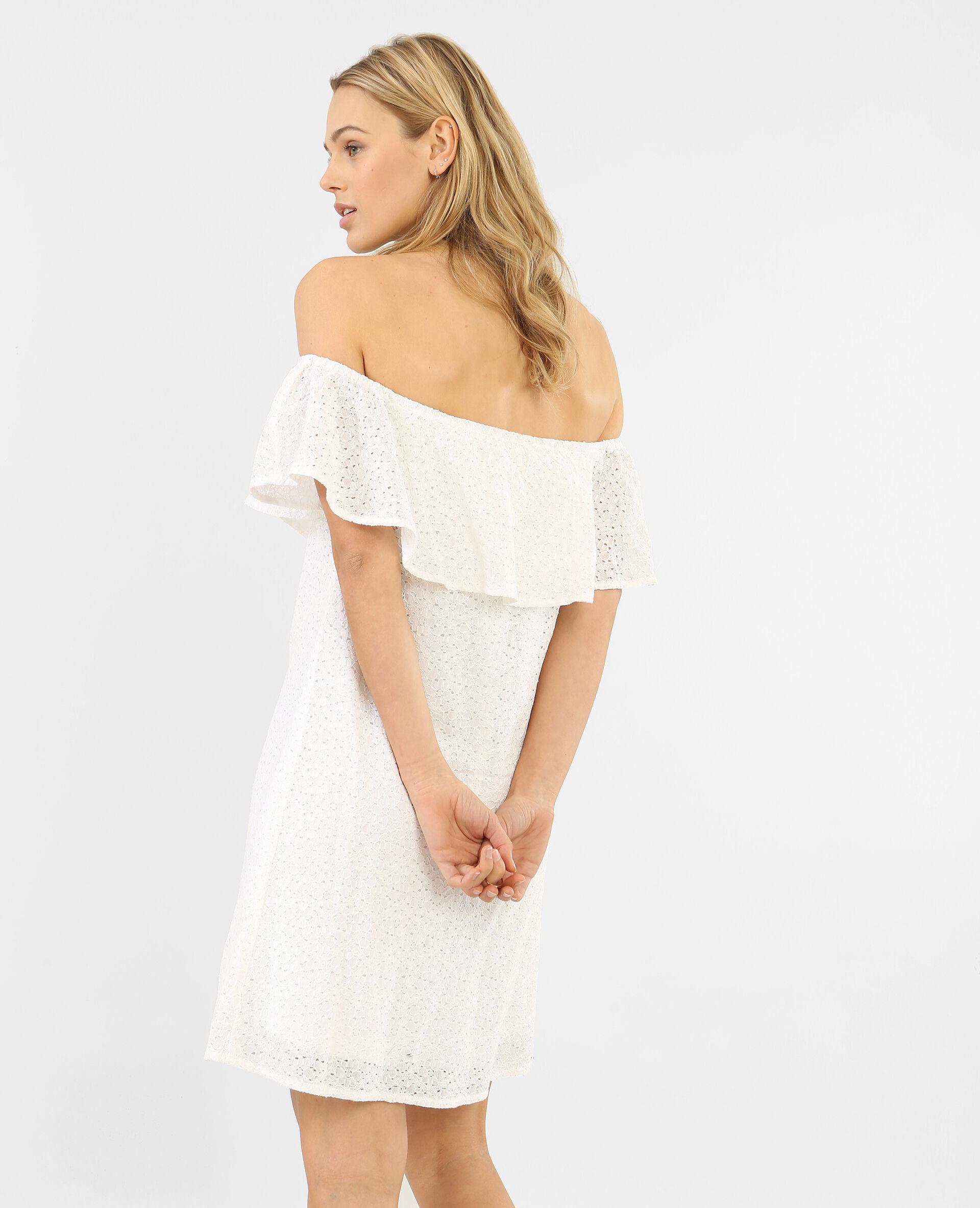 Robe blanche blanc casse