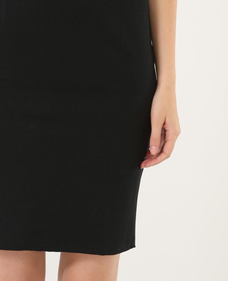 Robe one shoulder noir