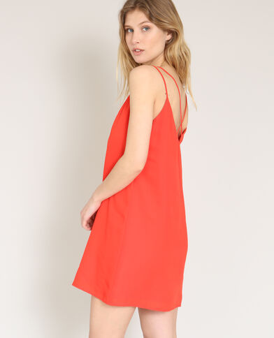 Robe nuisette rouge